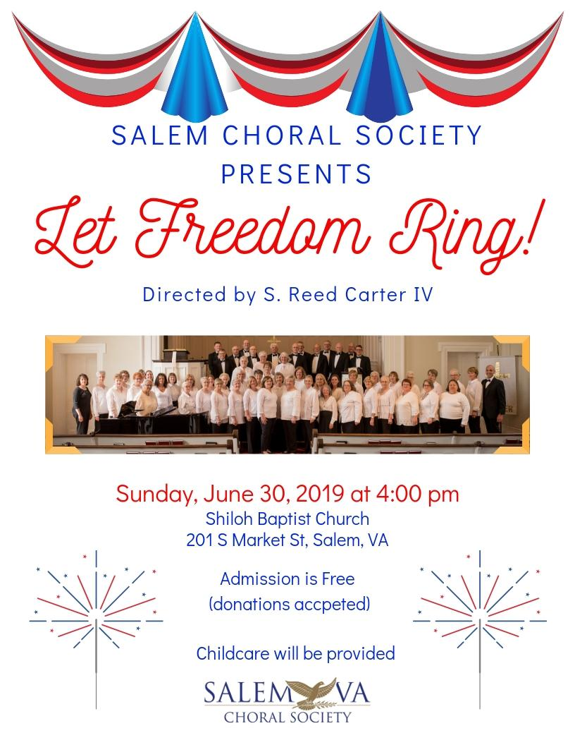 Join us for a musical celebration of America!
