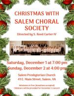 Christmas with Salem Choral Society